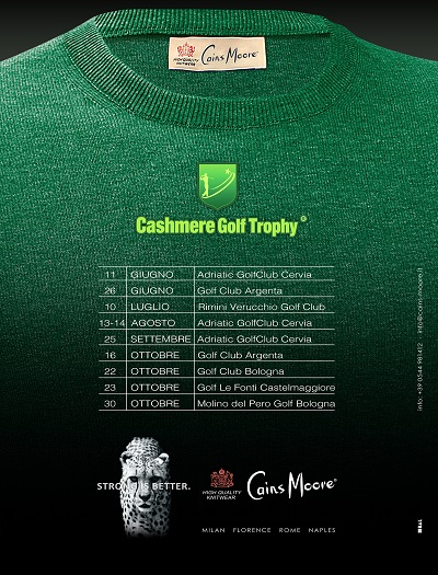 CashmereGS annuario Golf